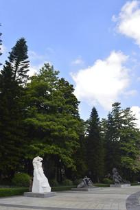 雕塑公园景观