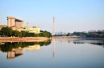 广州东山湖公园风景建筑图片