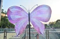 花蝴蝶雕塑