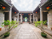 黄氏书室庭院