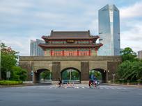 惠州朝京门景色