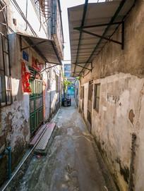惠州铁炉湖内的小巷