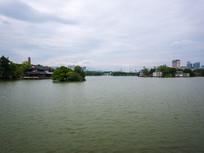 惠州西湖平湖景色