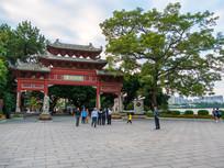 惠州西湖平湖门景观