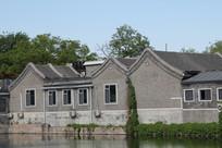 老北京灰瓦建筑