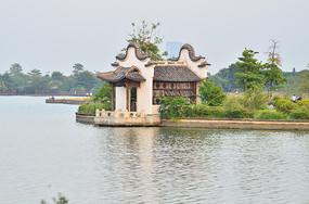 岭南水乡建筑园林古建筑图片