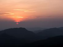 惠州高榜山的黄昏