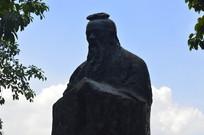 孔子青铜雕塑特写