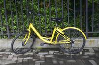 一辆ofo共享自行车