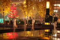 大雁塔广场夜晚美景