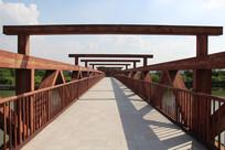 广州海珠湿地公园桥梁