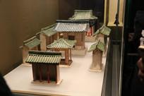 古代民居模型