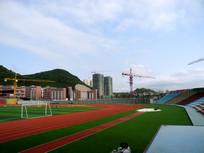 贵州省建设学校足球场跑道