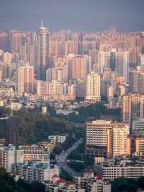 惠州市区城市景观