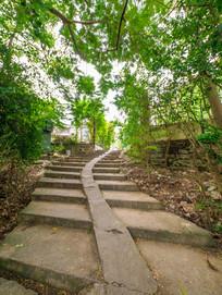 惠州西湖边的台阶