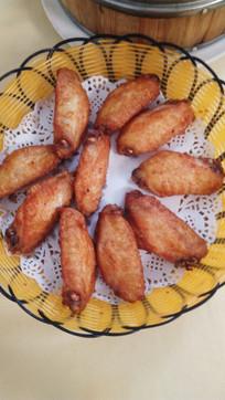 烤鸡中翅美食