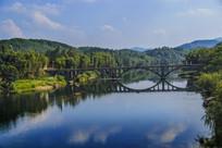 绿水青山河流