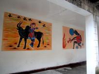 少数民族绘画