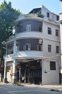 西关古建筑大楼风景