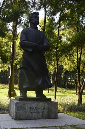 鲁迅先生塑像青铜雕塑