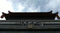 仰拍时光贵州园林建筑