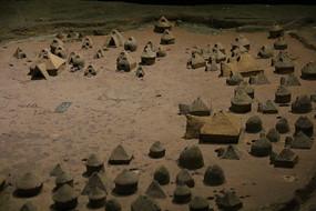 仰韶文化民居模型