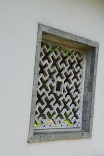 中式古典镂空窗棂