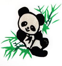 川北刺绣熊猫