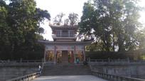 广州烈士陵园亭子建筑