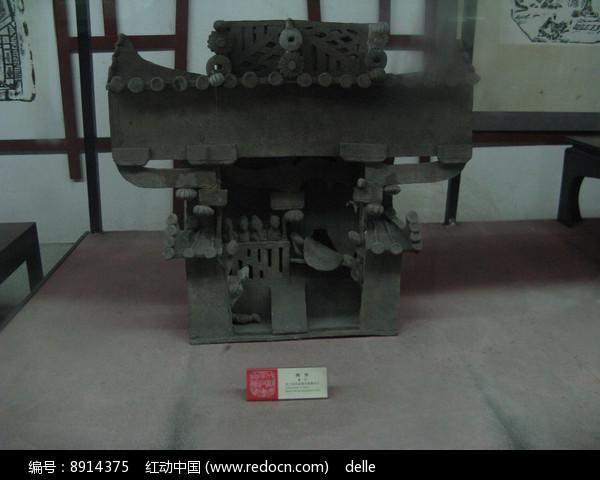 汉代建筑模型雕刻