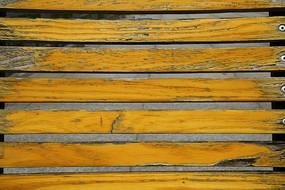黄色木条背景素材