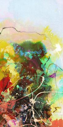 水墨艺术壁画装饰画