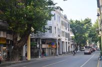 西关古建筑街道风景