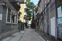 西关古建筑街道小巷子