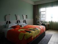 珠海企鹅酒店主题房间