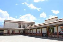 布达拉宫内景廊亭