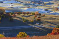 东沟乌兰布统的草原
