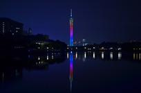 广州塔夜景风景