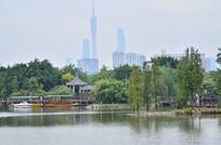 海珠湖湿地公园风景