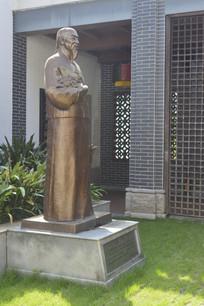凉茶始祖王老吉雕像