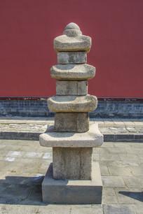 沈阳故宫四级石塔