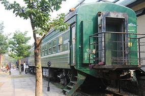 白塔公园绿皮火车