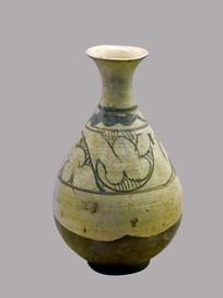 白釉玉壶春瓶