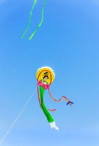 嫦娥造型的风筝