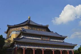 广东广州中山纪念堂建筑一角