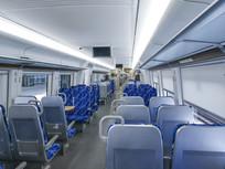 舒适的城际铁路