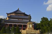 孙中山纪念堂八角形宫殿式建筑