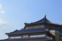 孙中山纪念堂标志性建筑一角