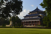 孙中山纪念堂主建筑拍摄图