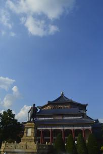 孙中山纪念堂主建筑摄影图